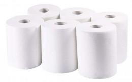 Бумажные полотенца, ролевые (рулонные). MIDI. 154000.
