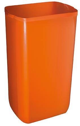 Урна для сміття, пластик помаранчевий, 23 л.  A74201AR - Фото №1