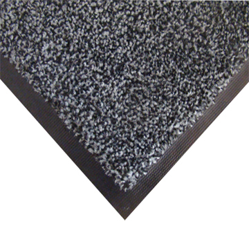 Нейлоновий брудозахисний килимок. 60*90 сірий. 1022509 - Фото №1