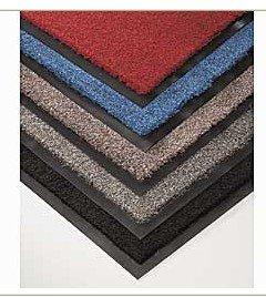 Нейлоновий брудозахисний килимок. 60*90 сірий. 1022509 - Фото №5