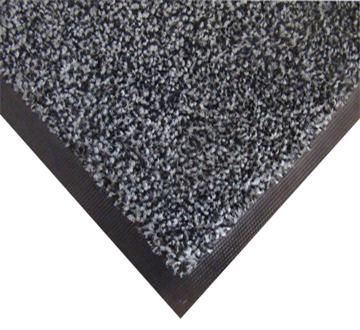 Нейлоновий брудозахисний килимок. 120 * 150 сірий. 1022505 - Фото №1