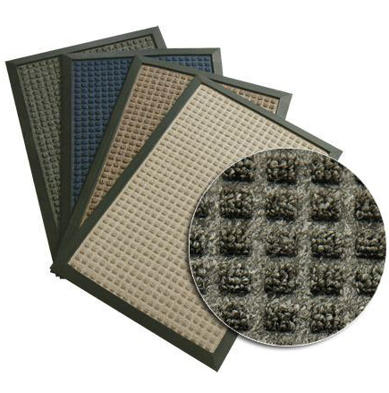 Грязезащитный  коврик Ватер-Холд (Water-hold), 180*120 зеленый. 1022500 - Фото №3