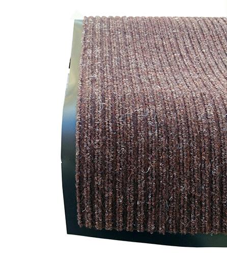 Грязезащитный коврик Дабл Стрипт, 60*90 шоколад. 1022512 - Фото №1