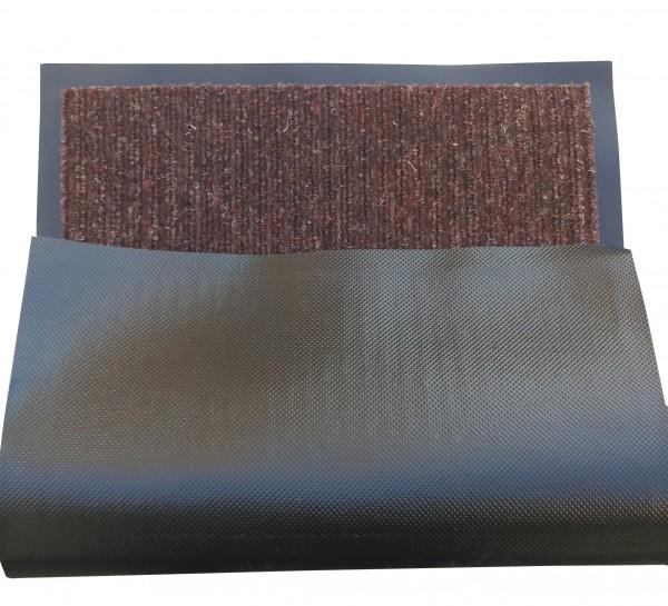 Грязезащитный коврик Дабл Стрипт, 60*90 шоколад. 1022512 - Фото №2