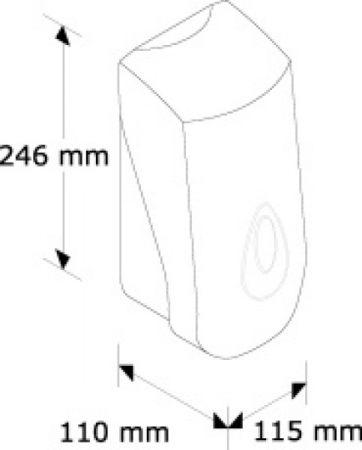 Дозатор рідкого мила автоматичний (Сенсорний). DN1TA. - Фото №2