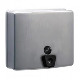 Дозатор рідкого мила нержавіючий метал матовий 1,3 л. DJ0115CS - Фото