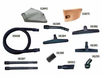 Промисловий Пилосос для сухого і вологого чищення Junior Steel 440B - Фото №2