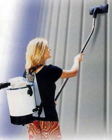 Ранцевий пилосос для сухого прибирання NEWDORSAL - Фото №2