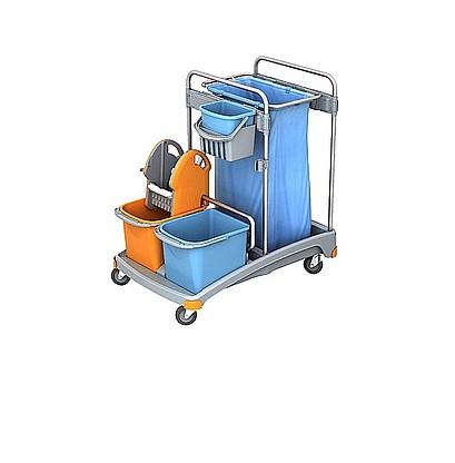 Візок для прибирання приміщень. TSS-0003. - Фото №1