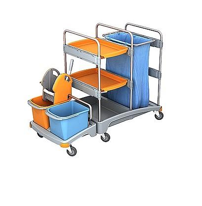 Візок для прибирання приміщень.  TSZ-0006 - Фото №1