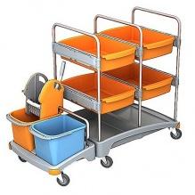 Візок для прибирання приміщень.  TSZ-0008 - Фото №1