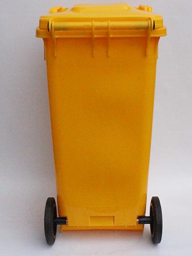 Бак для сміття  жовтий,120л. 120A-9Y - Фото №3