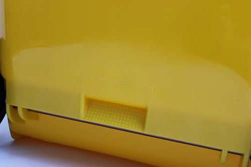 Бак для сміття  240л., жовтий. 240H2-19Y - Фото №4