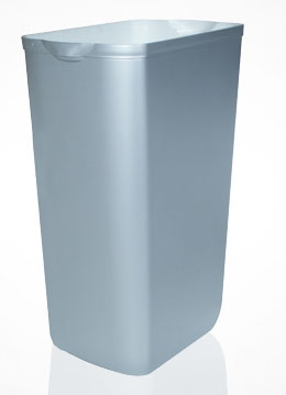 Корзина для мусора пластик сатиновый 23 л.  A74201SAT - Фото №1