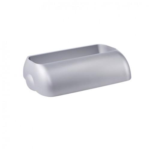 Корзина для мусора пластик сатиновый 23 л.  A74201SAT - Фото №3