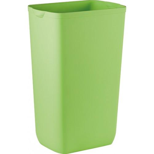 Урна для сміття пластик зелений 23 л.  A74201VE - Фото №1