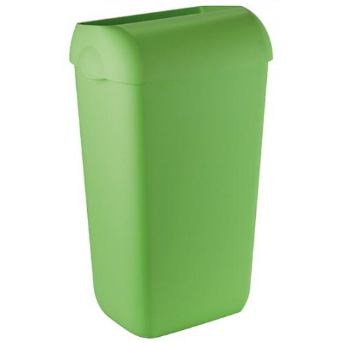 Урна для сміття пластик зелений 23 л.  A74201VE - Фото №3