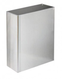 Корзина для бумажных полотенец металл глянцевый 16 л.M 116C - Фото