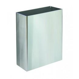 Корзина для бумажных полотенец металл глянцевый 6л. M 106C - Фото