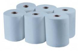 Бумажные полотенца, ролевые (рулонные). MIDI. P158.