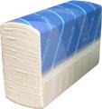 Бумажные полотенца листовые, Z-укладка, целлюлозные.406305. - Фото №1
