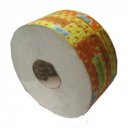 Туалетная бумага рулонная, макулатура Джамбо, 135 м, серая. B101K