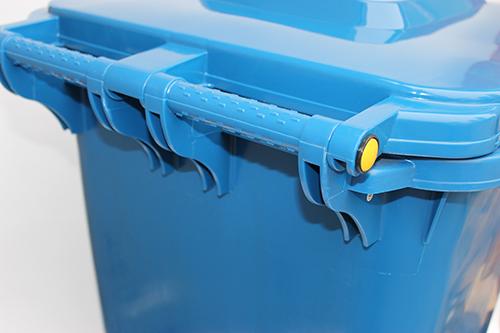 Бак для сміття  240л, синій. 240H2-19BL - Фото №2