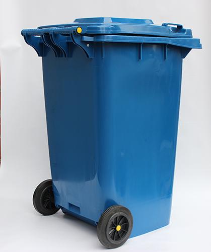 Бак для сміття  240л, синій. 240H2-19BL - Фото №4