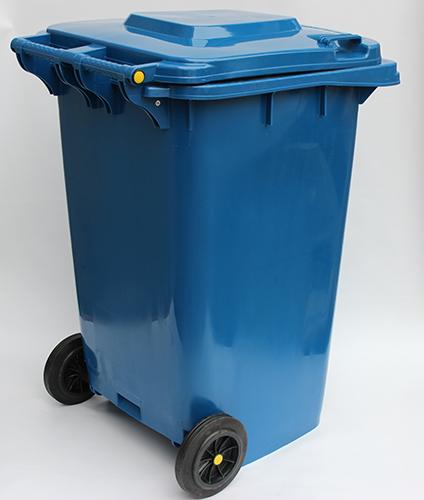 Бак для сміття  240л, синій. 240H2-19BL - Фото №5