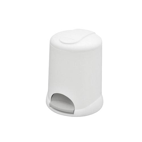 Корзина пластикова з педаллю 5 л. M-805W - Фото №1