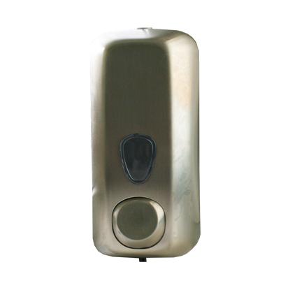 Дозатор жидкого мыла, 0.55 л, сатиновый, нерж. сталь. A71400SAP - Фото №1