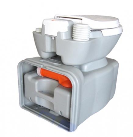 Биотуалет кассетный, поршневой смыв. 3622 - Фото №2