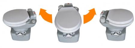 Биотуалет кассетный, поршневой смыв. 3622 - Фото №4