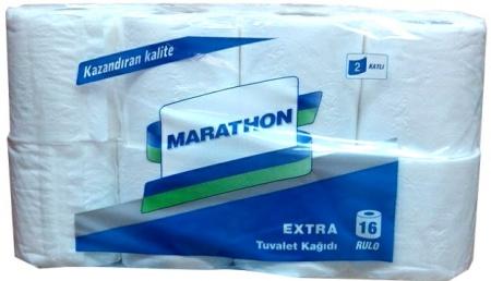 Туалетная бумага в рулонах Extra. TM Marathon. - Фото №1