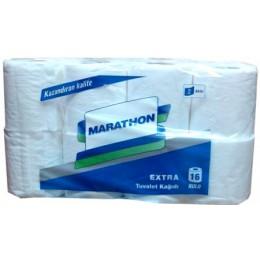 Туалетний папір в рулонах Extra. TM Marathon. - Фото