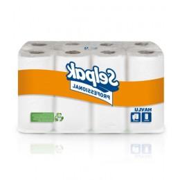 Бумажные полотенца рулонные. Selpak Professional. 3 слоя. 32761700 - Фото