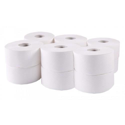 Туалетний папір рулонний, целюлоза, 2 шари. Джамбо.  B-202 - Фото №1