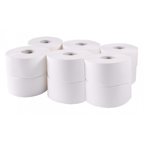 Туалетная бумага Джамбо рулонная, целлюлоза, 2 слоя. B-202 - Фото №1