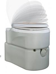 Биотуалет кассетный, поршневой смыв+водоснабжение. 3924TI - Фото