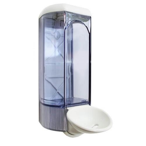 Дозатор для рідкого мила ліктьовий медицинський.  A63001 - Фото №2