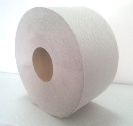 Туалетний папір рулонний, макулатура. Джамбо.  TP1.130.R.UA. - Фото №1