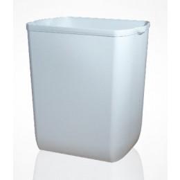 Урна для мусора 55л PRESTIGE, пластик белый. A86601 - Фото
