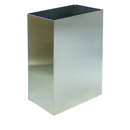 Корзина для паперових рушників метал глянсовий 60 л. M 160C - Фото №1