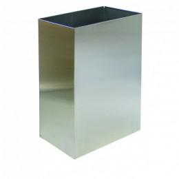 Корзина для бумажных полотенец металл глянцевый 60 л. M 160C - Фото