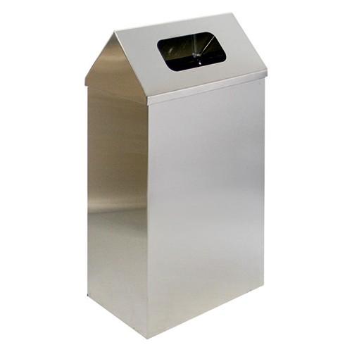 Корзина для паперових рушників метал глянсовий 60 л. M 160C - Фото №3