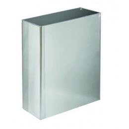 Корзина для паперових рушників метал матовий 16 л. M 116S.