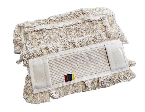 МОП універсальний (вкладиш) з кишенями і з 'вухами' для прибирання підлоги 40 см. NZS028WP. - Фото №1