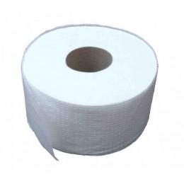 Туалетная бумага рулонная, целлюлоза, 2 слоя. Джамбо.  M220 - Фото