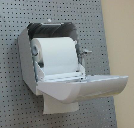 Напівавтоматичний диспенсер паперових рушників. K8. - Фото №2