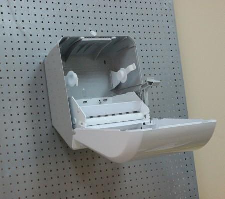 Напівавтоматичний диспенсер паперових рушників. K8. - Фото №3